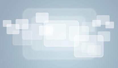 Transparent rectangle frames