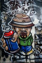Graffiti taggeur