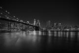 Fototapety Brooklyn Bridge at night, New York