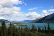 Bove Island in Tagish Lake near Carcross, Yukon, Canada