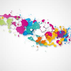 fond abstrait-peinture