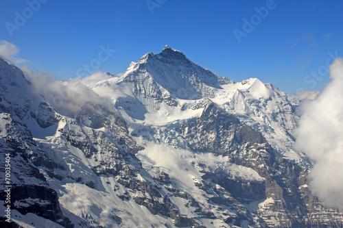 canvas print picture alpen schweiz