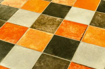 Rustic ceramic tiles