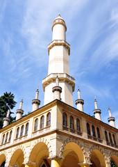 minaret in the park, Moravia, Czech Republic, Europe
