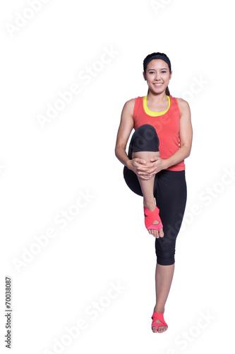 canvas print picture sport woman