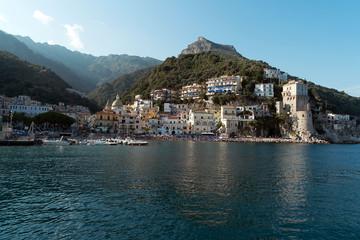 Cetara - Vista panoramica dal Porto - Costiera Amalfitana