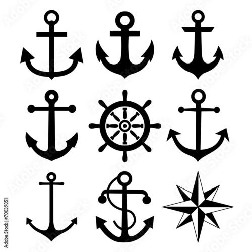 Fototapeta Anchors