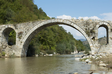 Footbridge , stonebridge, old