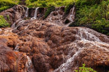 golden Waterfall in Taipei, Taiwan