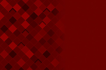 Abstract background with square pattern and place for text