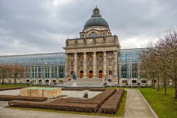 Bavarian State Chancellery building in Munich