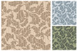 Leaf Pattern with aditional color variations