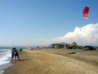 Lezione di kitesurf