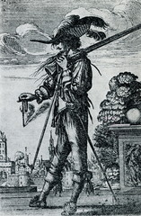 French musketeer ca. 1660