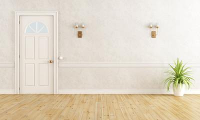 White classic room