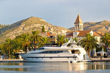 Dalmatian town of Trogir waterfront