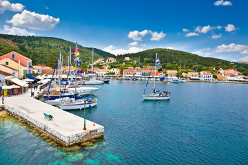 Fiskardo on Kefalonia Ionian island, Greece.