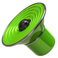 Green speaker icon