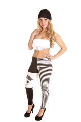 pirate leggings bra fringe