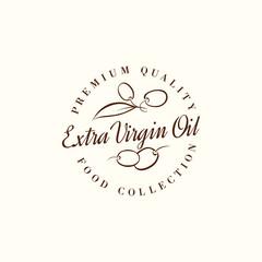 Natural olive oil labels.