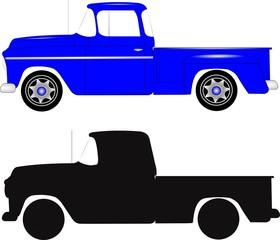 retro stepside truck
