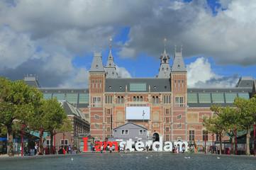 State museum (Reyksmyuzeum). Amsterdam, Netherlands