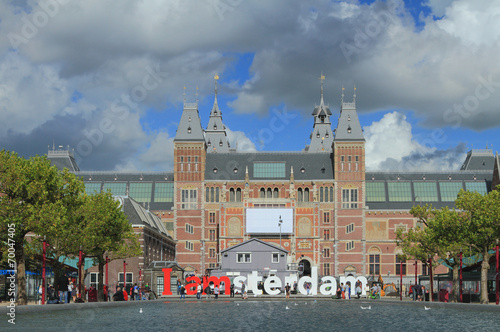 Papiers peints Europe du Nord State museum (Reyksmyuzeum). Amsterdam, Netherlands