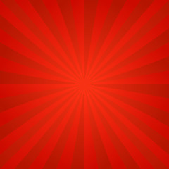 Red ray background