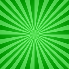 Green ray background