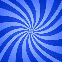 Blue swirl design background