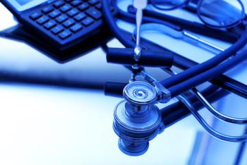 Stethoscope close up