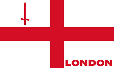 Flag of the city of London