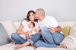 Loving family concept