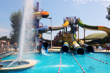 Attractions at Illa Fantasia  Water Park