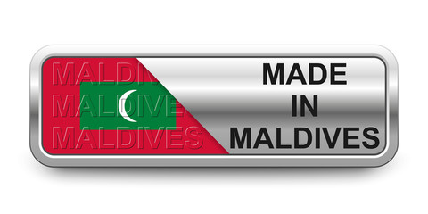Made in Maldives Button