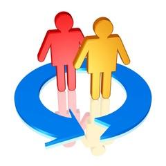 Nutzer wechseln oder Freundschaft erneuern