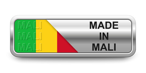 Made in Mali Button
