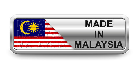 Made in Malaysia Button