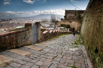Napoli,  Stairs of Saint Martino