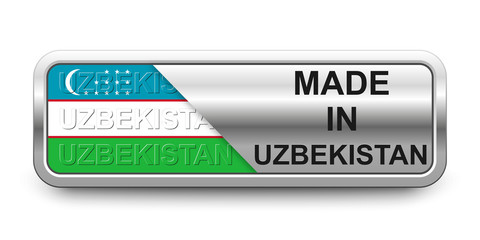 Made in Uzbekistan Button
