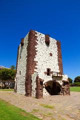 Torre del Conde Tower in sunny day at La Gomera