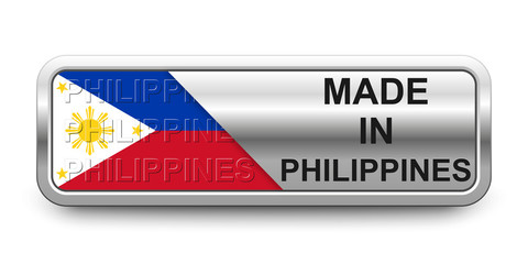Made in Philippines Button