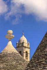 Pietre di Puglia:Trulli di Alberobello, ITALIA(Bari)