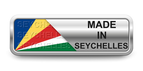 Made in Seychelles Button