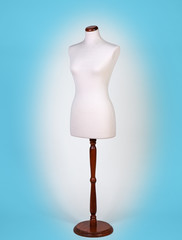 Mannequin or dressmakers dummy