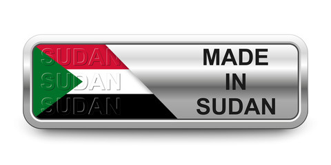 Made in Sudan Button
