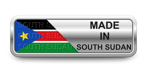 Made in South Sudan Button