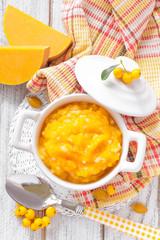 Pumpkin porridge