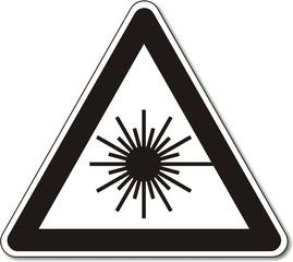 Warnzeichen, Laser