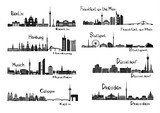 8 cities of Germany